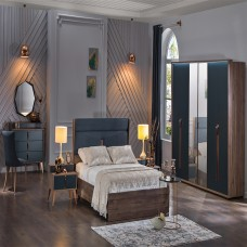 Bellon İmpera Yatak Odası 5 Kapılı 150/160 Başlıklı Takım (1)