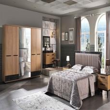 Bellona Lofty Yatak Odası 5 Kapılı 150/160 Başlıklı Takım (1)