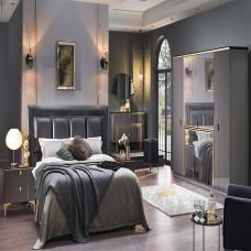Bellona Carlino Yatak Odası 5 Kapılı 150/160 Başlıklı Takım (1)