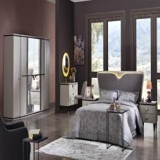 Bellona Orlando Yatak Odası 5 Kapılı 150/160 Başlıklı Takım (1)