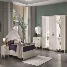 Bellona Perlino Yatak Odası 5 Kapılı 150/160 Başlıklı Takım (1)