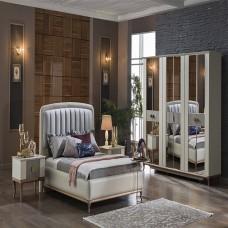 Bellona Pesaro Yatak Odası 5 Kapılı 150/160 Başlıklı Takım (1)