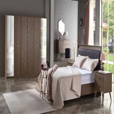 Bellona Solena Yatak Odası 5 Kapılı 150/160 Başlıklı Takım (1)