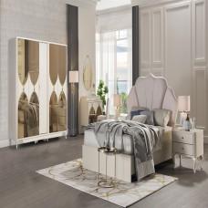 Bellona Solven Yatak Odası 6 Kapılı 150/160 Başlıklı Takım (2)