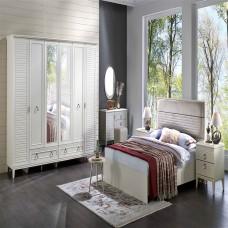 Bellona Vilza Yatak Odası 4 Kapılı 150/160 Başlıklı Takım (1)